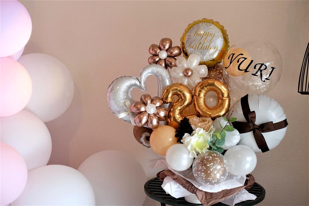 バルーンギフト バルーンアレンジ 誕生日 お祝い プレゼント 文字入れ バルーンアート通販ショップ KOO-DOO